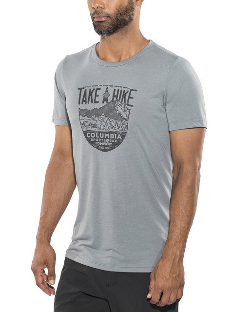 Columbia Laney Hill - T-shirt manches courtes Homme - gris